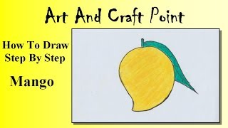 How to draw an Mango for kids