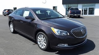 2014 Buick Lacrosse 2.4L 4 Cylinder Start Up, Tour, and Review