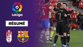 🇪🇸 Résumé - LaLiga : Le Barça et Messi font exploser Grenade