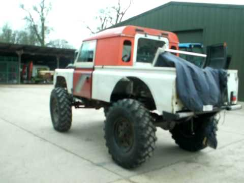 Unimog 404 For Sale >> The shrew lives! Land Rover 110 with Unimog axles (work in progress) - YouTube