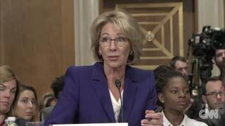 Betsy DeVos: Guns should be allowed in schools in case of grizzly bears