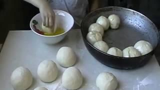 видео: отрывной хлеб как булочка