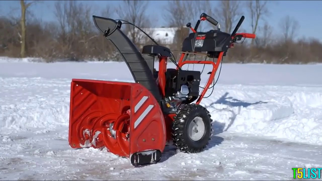 Best Snow Blowers 2019 Top 3 Best Snow Blowers In 2019   YouTube