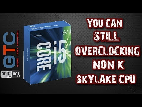 Overclocking Non-K CPU Skylake I5 6600 To 4,2 GHz MSI Z170A SLI Plus