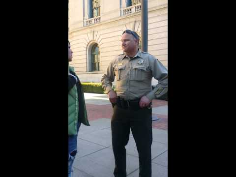 Speaking with Spokane county Sheriff