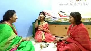 Marathi ukhane kitty party in modern style🍾🍺🍺😉