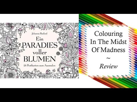 Colouring In The Midst Of Madness