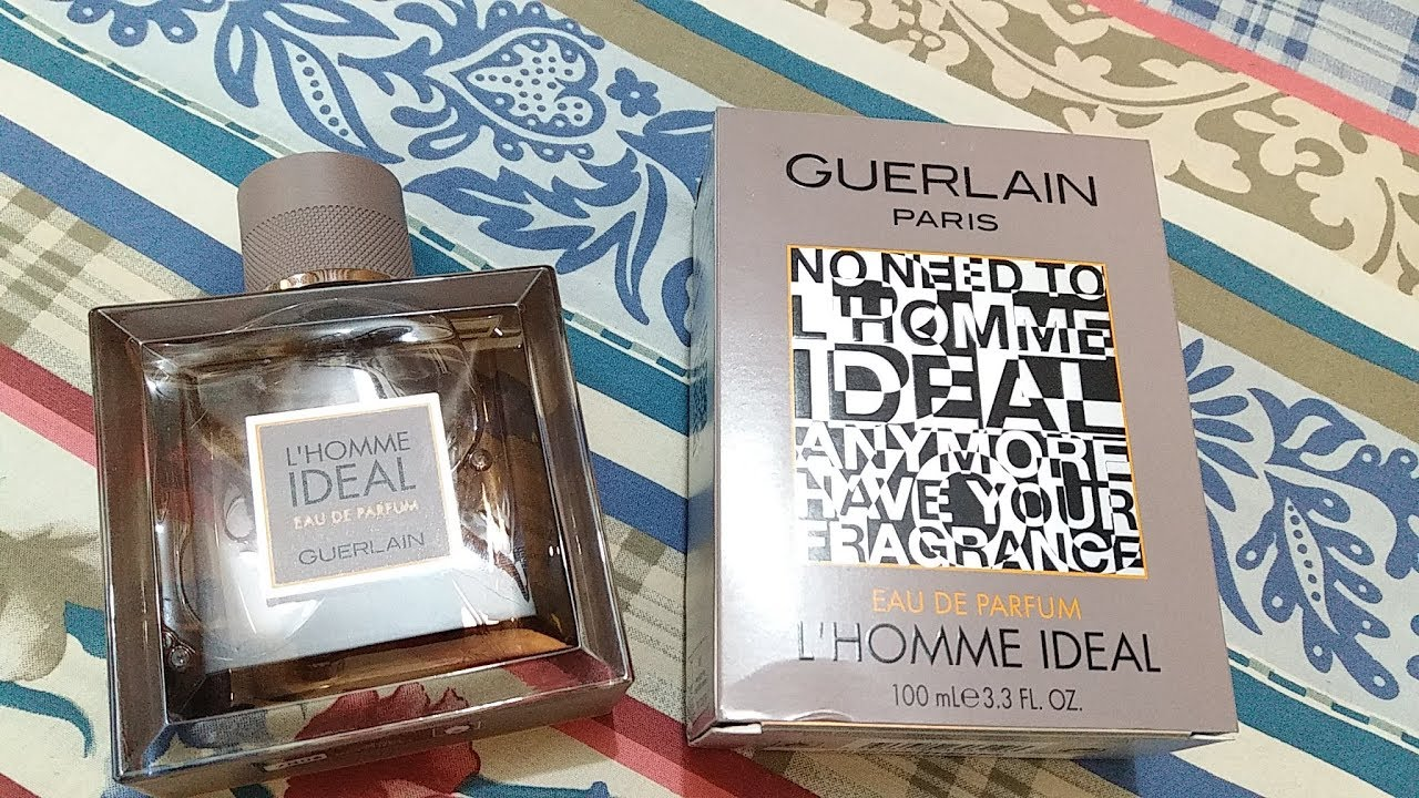 Guerlain Lhomme Ideal Edp Review 2016 Youtube