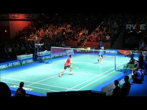Lin Dan Vs Chou Tien Chen: German Open Finals