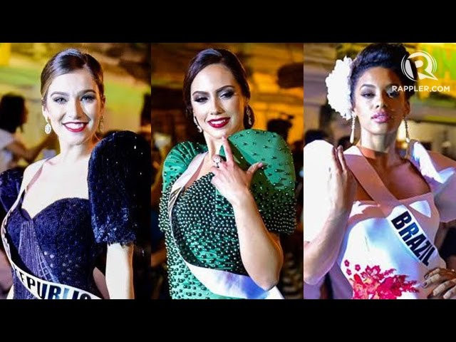 Miss Universe 2016/2017 - Vigan Terno Fashion Show