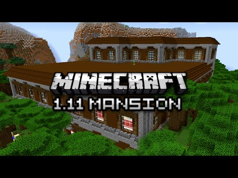 Minecraft: NEW WOODLAND MANSION DUNGEON - 1.11 Exploration Update