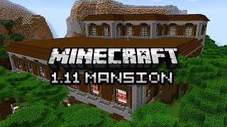 Minecraft: NEW WOODLAND MANSION DUNGEON - 1.11 Exploration Update