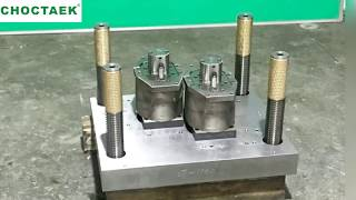 Smooth-wall Aluminium Foil Container Mould (Two Cavities)