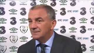 Republic of Ireland v Kazakhstan - Post Match Interview - Noel King (15/10/13)