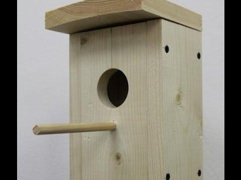 Как сделать деревянный скворечник своими руками