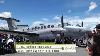 """Feria Aeronáutica puso """"a volar"""" a asistentes y viajeros, pero de la rabia"""