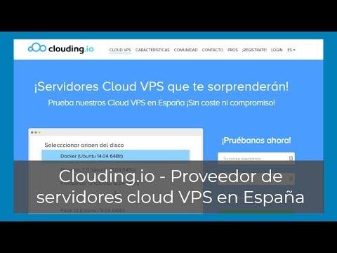 Cómo crear un vps en clouding io