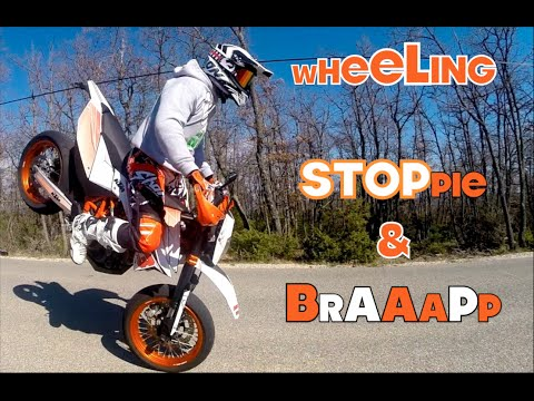 Braapp wheel stoppie feat marty kev ded youtube - Boutique 100 bitume ...