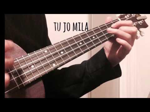 Tu Jo Mila (soundtrack Bhajrangi Baijaan-Ukulele Cover)