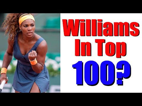 Would Serena Williams Be In Top 100 ATP? Tennis Talk