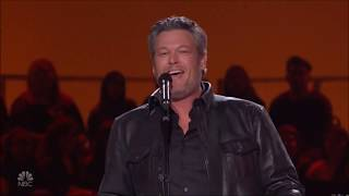 "Blake Shelton sings ""Suspicious Minds"" Live in Concert Elvis Tribute 2019 HD 1080p Video"