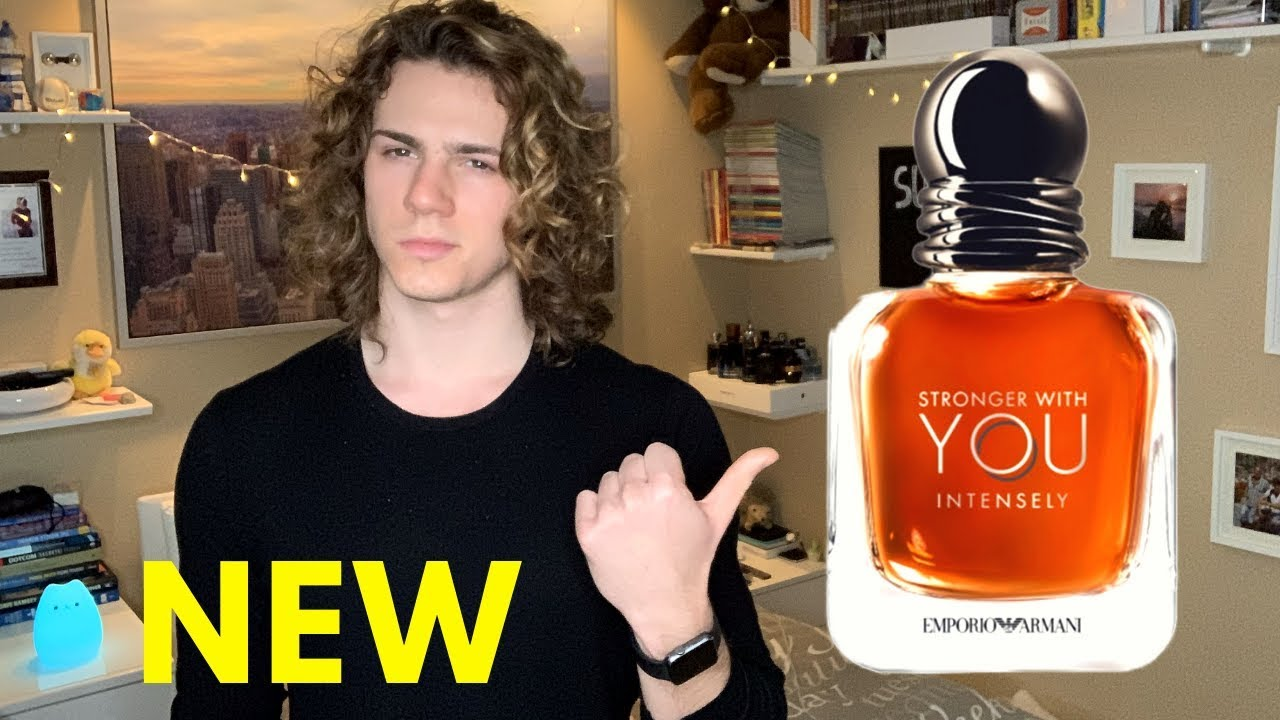 New Emporio Armani Stronger With You Intensely Review Youtube
