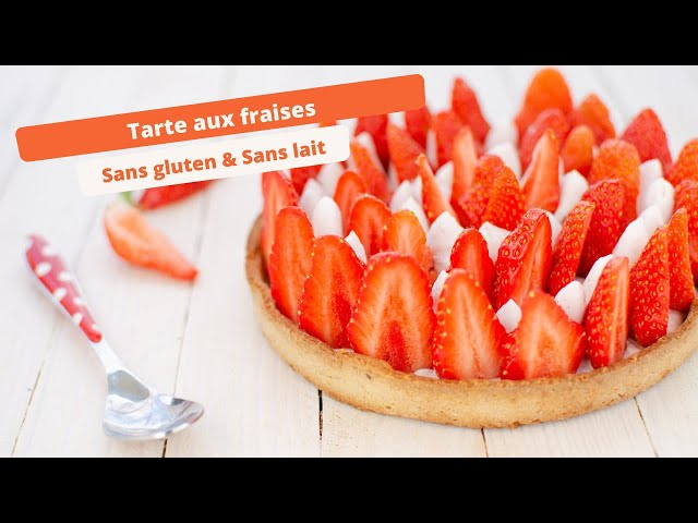🍓 Tarte aux fraises sans gluten : Recette facile et rapide 🍓