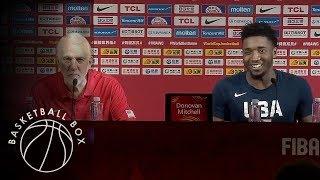 [FIBA World Cup 2019] USA vs Czech Republic, Press Conference, September 1, 2019