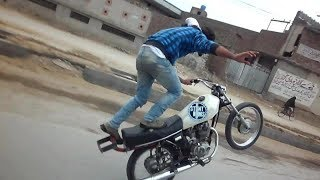 Pakistan Wheeling Death Game - Bike wheeling 2018 | One wheeling