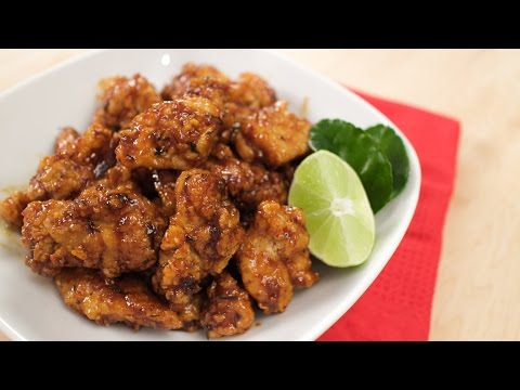 Hot Thai Chicken! - Fried Chicken in Sweet Chili Lime Sauce