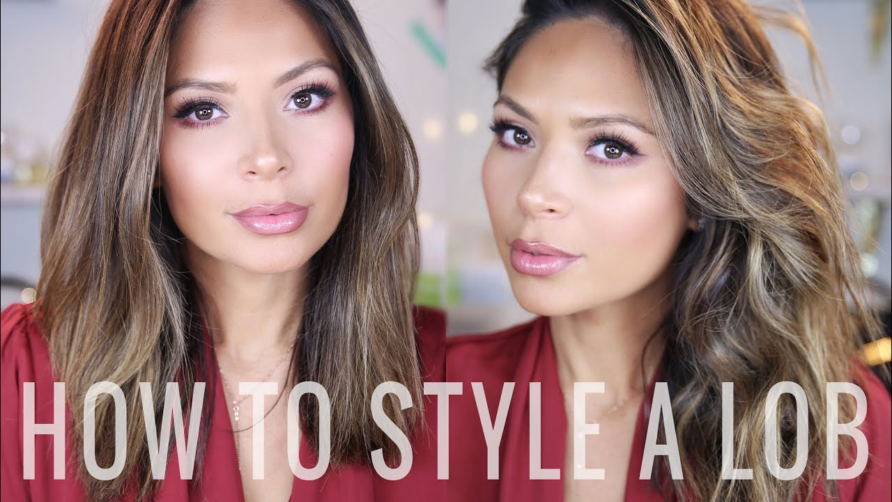 How to style a lob youtube how to style a lob winobraniefo Choice Image