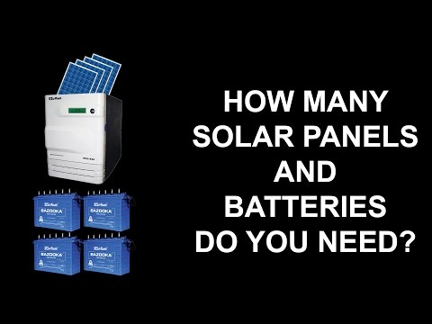 How to design 1KW Off Grid Hybrid Solar system with solar panels and batteries?