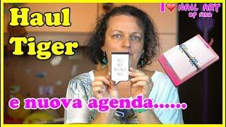 Haul Video Acquisti Cartopazzi da Tiger e Nuova Agenda da Aliexpress  By Nika