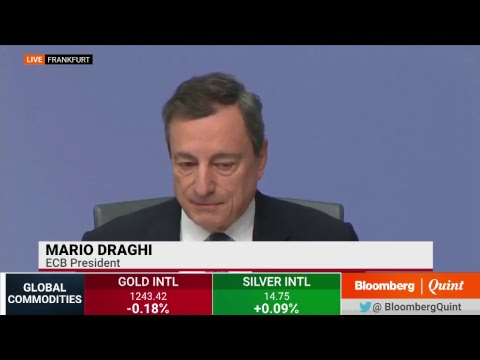 ECB President Mario Draghi Addresses Media #BQ