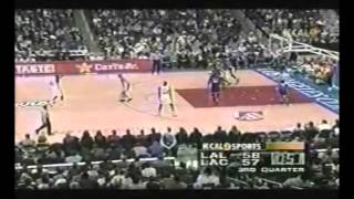 Shaquille O'Neal 61 Points vs Los Angeles Clippers (March 6, 2000)
