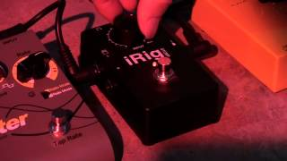 iRig STOMP - The first stompbox guitar interface for iPad, iPhone, iPod touch