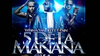 T-Pain Ft. Wisin & Yandel -5 O