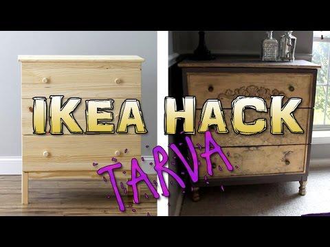 Diy Awesome Ikea Hack Tarva Dresser Transformation