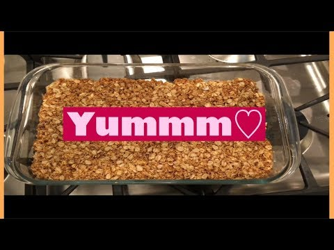 How To Make Healthy Copycat Nature Valley Oats And Honey Bars