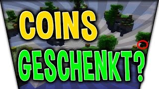 SKY WARS COINS GESCHENKT?! - Minecraft Sky Wars Woche #003