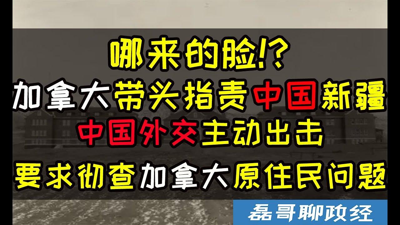哪来的脸?加拿大带头污蔑中国新疆、中国外交主动出击要求彻查加拿大原住民人权问题90个国家支持中国!