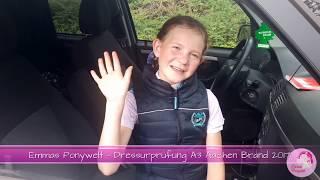 Emmas Ponywelt - Dressurprüfung A3 Aachen-Brand 2017