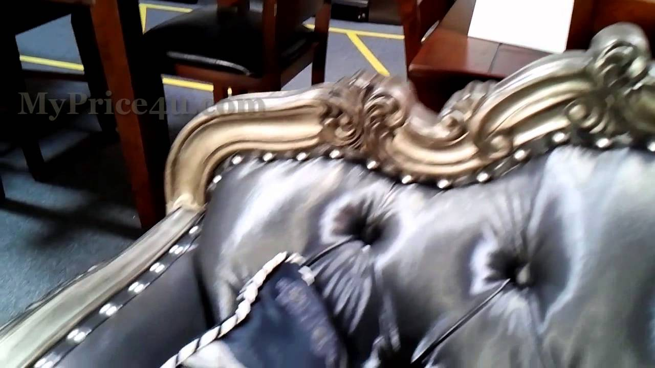 CHANTELLE COLLECTION FRENCH SOFA 51540 BY ACME   YouTube
