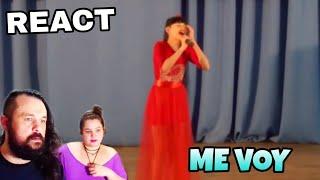VOCAL COACHES REACT: DIANA ANKUDINOVA - ME VOY
