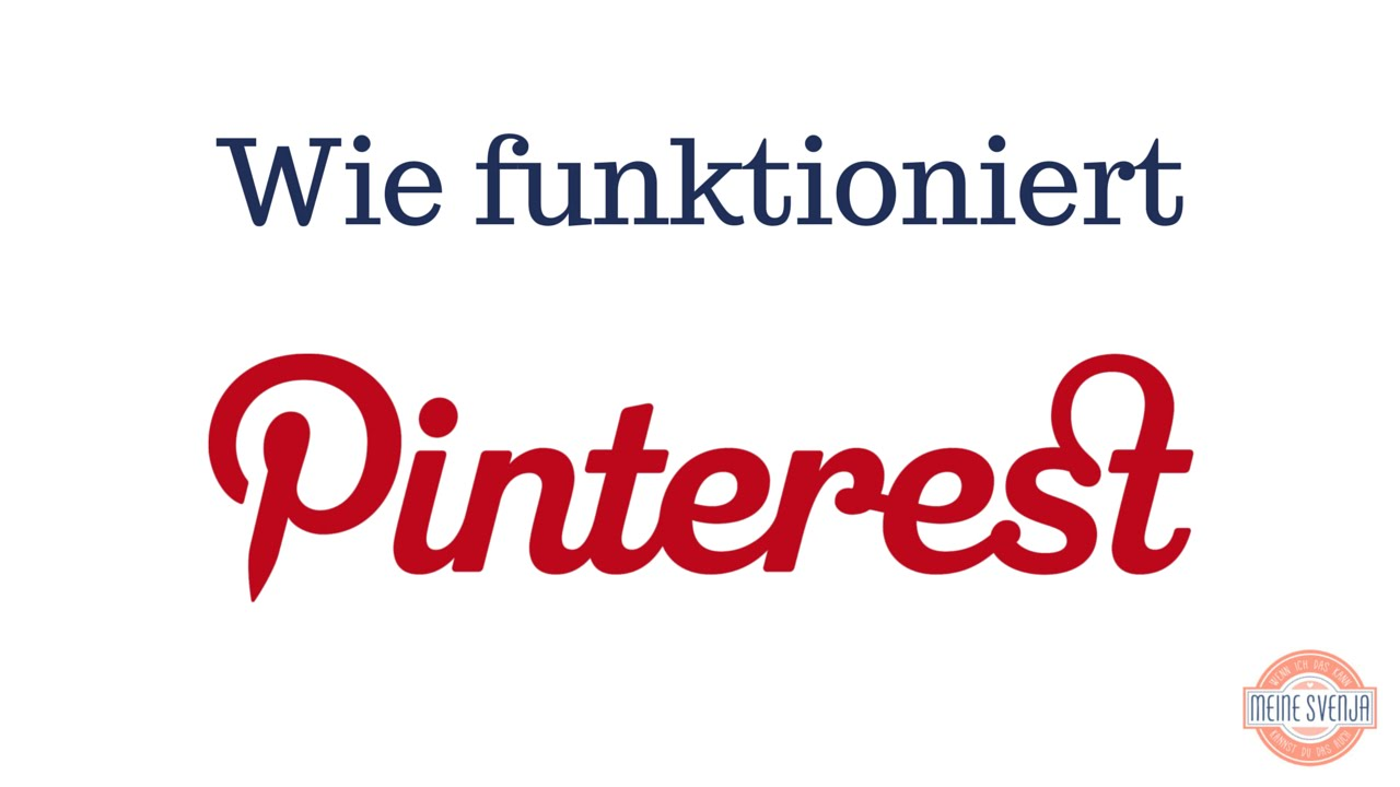 Pinterest Deutsch Tutorial Teil 1 Youtube