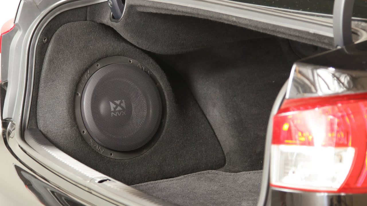 Lexus Is250 Is350 Amp Isf Nvx Boost Subwoofer Enclosure