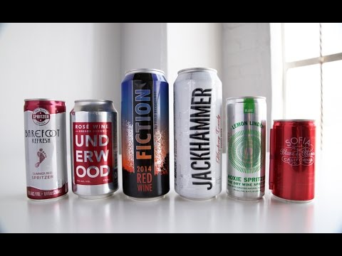 wine article AlcoHaul Canned Wine  Whitney A