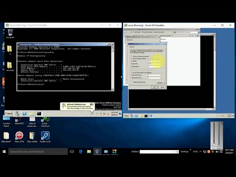 How to ping ip between two machine in virtual box