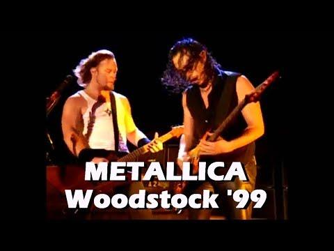 Metallica - Live At Woodstock 1999  (Full Show)