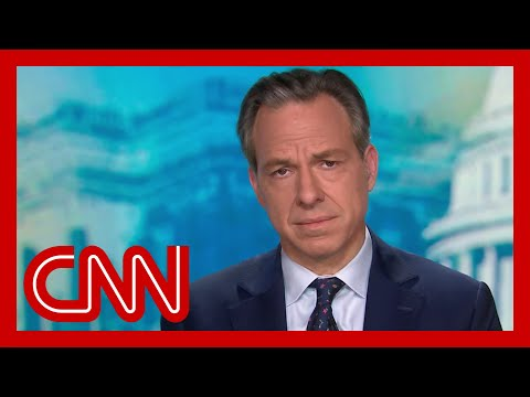 Jake Tapper wants to thank Trump. Hear why
